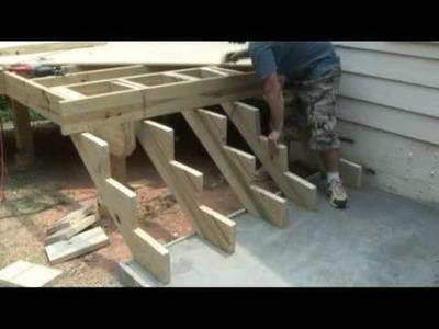 How to build deck stairs - Decks.com