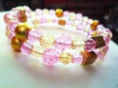 How to Make a Memory Wire Bracelet - Jewelry-making Tutorial