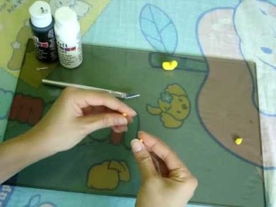 How to make a miniature polymer clay toy duck