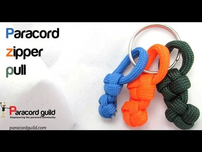 How to make a paracord zipper pull