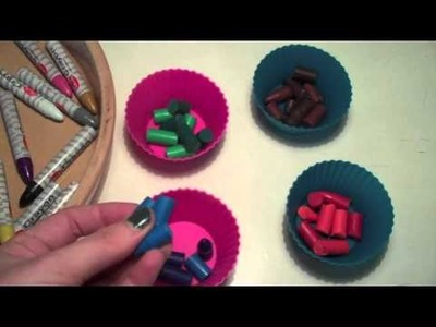 How to make unique crayons