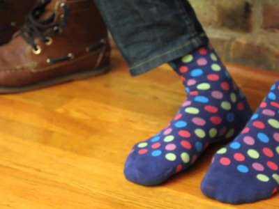 How To Put On Your Foot Cardigan Socks
