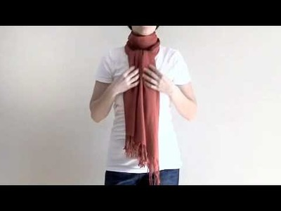 How to Tie a Scarf: The Ascot Knot