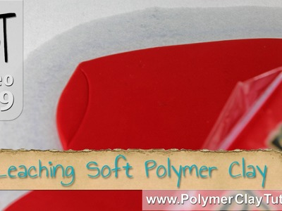 Leaching Soft Polymer Clay To Make It Firmer