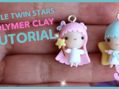 Little Twin Stars Chibis | Polymer Clay Tutorial
