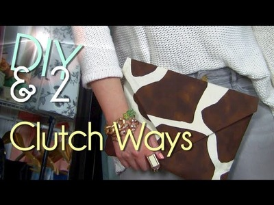 Make No Sew Clutch   Purse.Case.Envelope