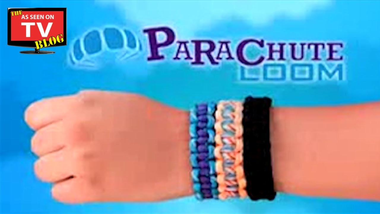 Parachute Loom As Seen On TV Commercial Buy Parachute Loom As Seen On TV Parachute Loom Kit