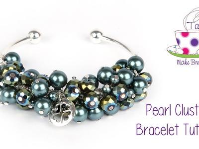 Pearl Cluster Bangle Tutorial | Take A Make Break with Sarah Millsop ❤️