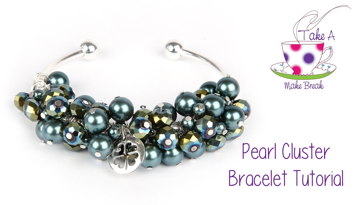 Pearl Cluster Bangle Tutorial | Take A Make Break with Sarah Millsop ❤️‍