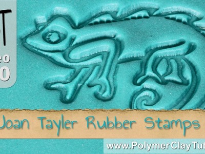 Polymer Clay Rubber Stamps by Joan Tayler Design
