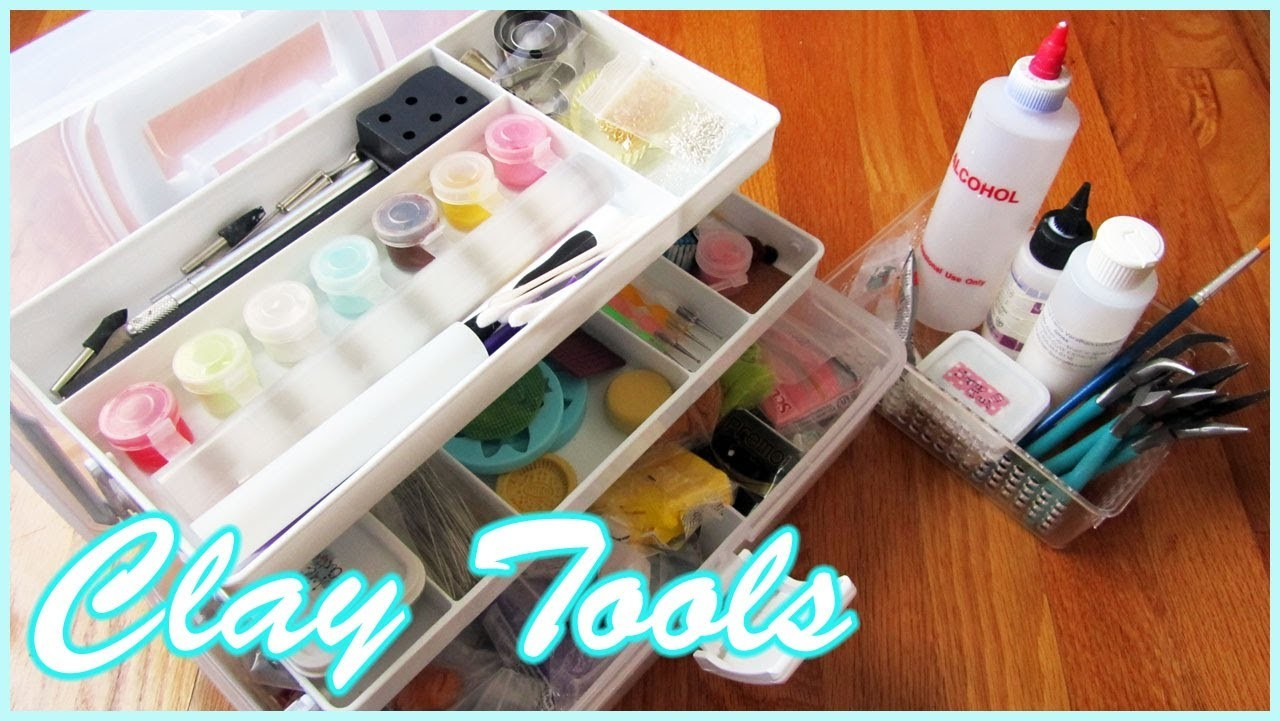 Polymer Clay Tools || Storage & Where to Buy