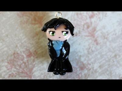 Sherlock Holmes (BBC) Chibi Polymer Clay Tutorial