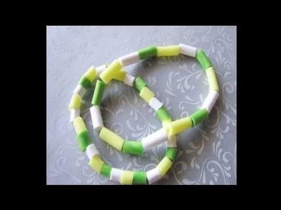 Summer Bracelets (Polymer Clay)