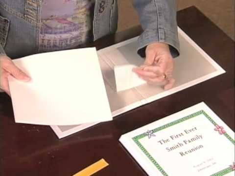 The Book'It ™-  A kit to make a hard-bound book.