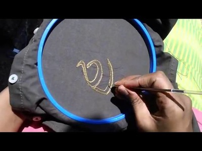 Thread work zardosi hand embroidery needle