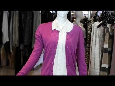 Trendy Ways to Wear a Cardigan Sweater : Fashion Tips
