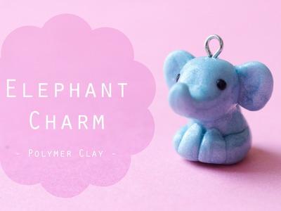Watch Me Craft: Elephant Polymer Clay Charm