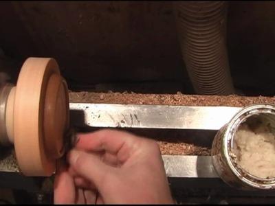 Woodturning Turning A Bracelet On The Lathe