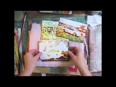 Altered Paper Techniques Part 1