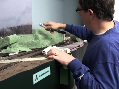 Building terrain with florist foam | Model railroad scenery how-to | Model Railroad Hobbyist