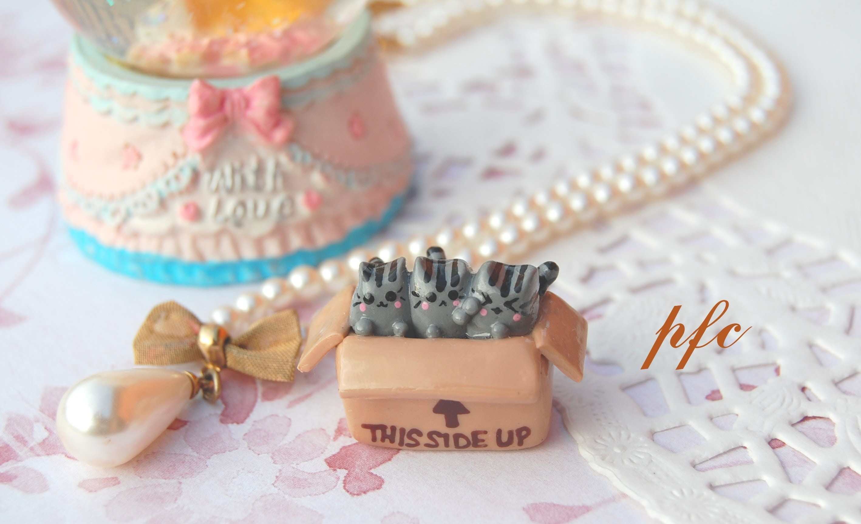 Cats! Polymer Clay Charm Update ♥