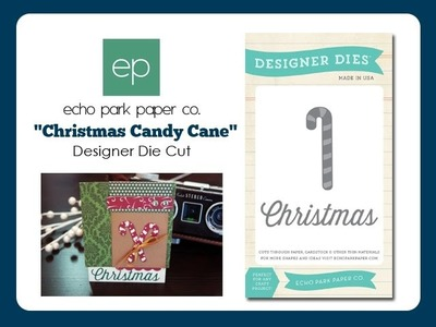 Christmas Candy Cane Designer Die Set