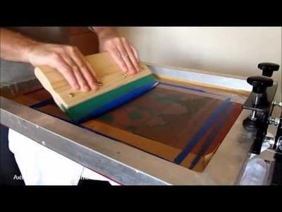 CMYK Screen Printing