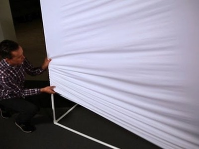 CNET How To - Make a giant projection screen