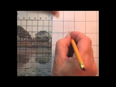 Creating a Line Drawing from a Reference Photo