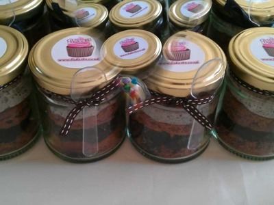 Cupcake Ideas: Cupcake in a Jar