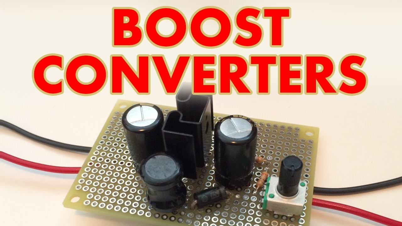 DC-DC Boost converter tutorial