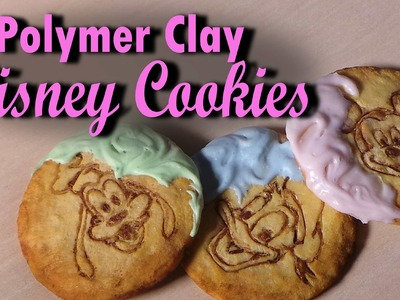 Disney Sugar Cookies - Polymer Clay Tutorial