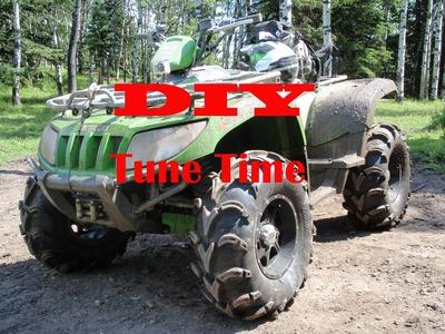 DIY ATV Tune up and Oil Change