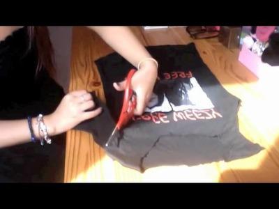DIY: T-Shirt To Tank Top