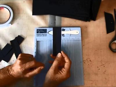 Envelope Mini album tutorial with Steampunk Spells collection part 1