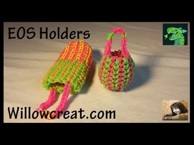 EOS Holder Single Double - Eyeglasses Sunglass Holder on Rainbow Loom