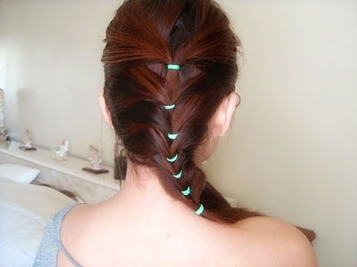 Hair Tutorial: Cute and Simple Braid Inspired Hairstyle