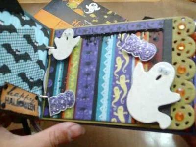 Halloween Mini Album take two