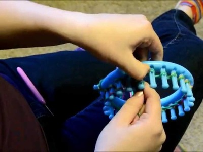 Hats 4 Hope:  How to make a preemie hat on a loom