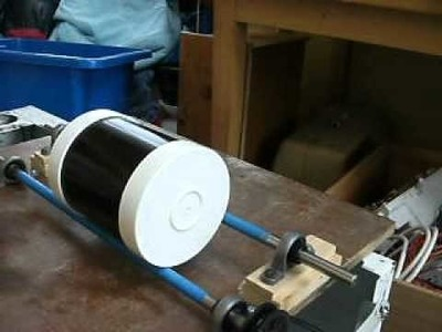 Home made rock tumbler rock polisher