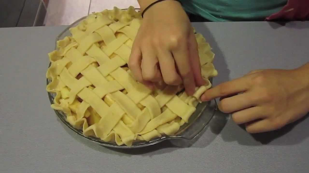 How to: Apple Pie Step by Step