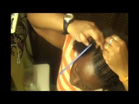 How to canerow.cornrow part 3 of 3 (3 video series)