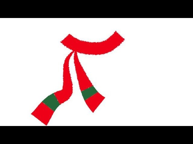 How to Draw a Christmas Scarf in Adobe Illustrator
