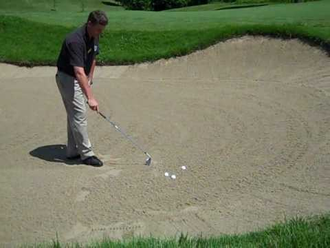 How To Hit Out of a Sand Trap | Golf Lessons