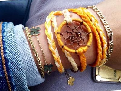 How to make a dreamcatcher bracelet