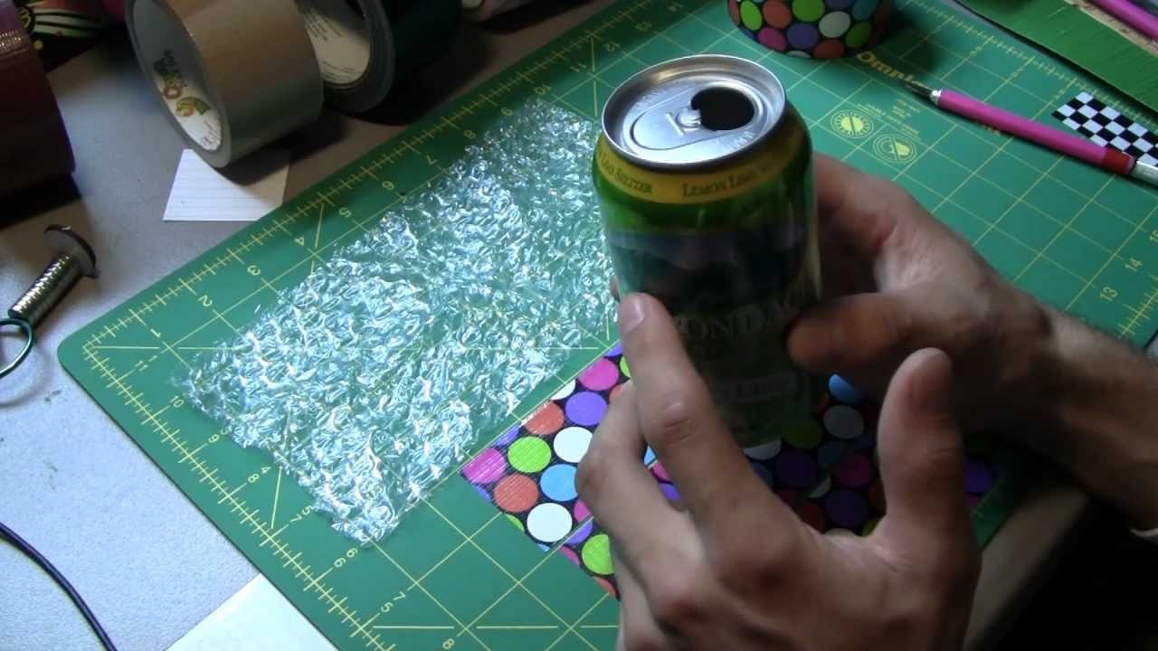 How to make a Duct tape Soda can Coolie!