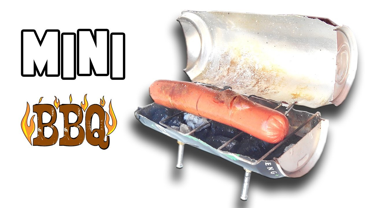 How to Make a Mini BBQ   Homemade Experiment