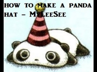 How to Make a Panda Hat Tutorial