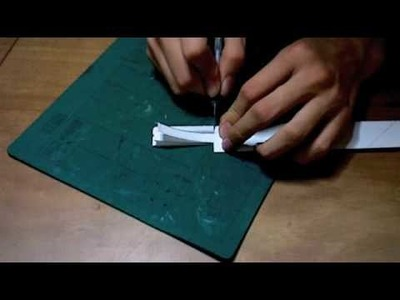 How to make a Paper Buster Sword from Final Fantasy 7 part 3.5