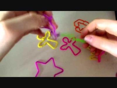How to Make a Silly Bandz Bracelet!